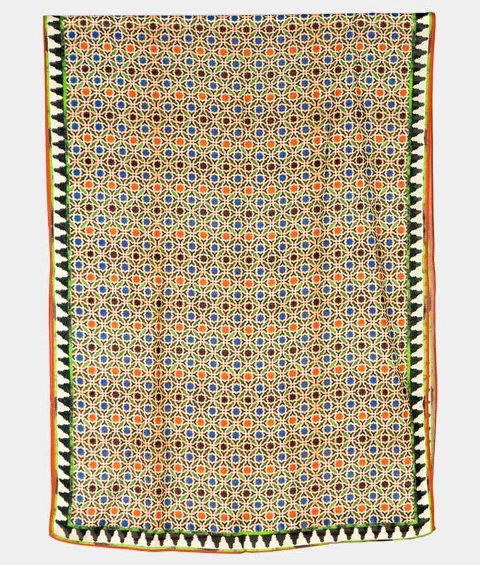 Marrakech mosaic tiles inspired scarf
