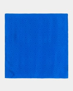 pañuelo de seda cuadrado estampado