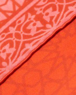 terminaciones cosidas a mano pañuelo de seda