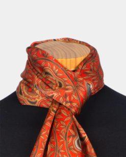 pañuelo mujer de seda para el cuello
