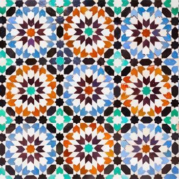 mosaicos árabes de la alhambra de granada