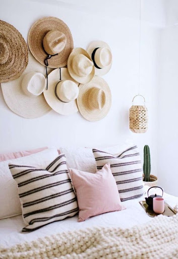 use of hats for decoration