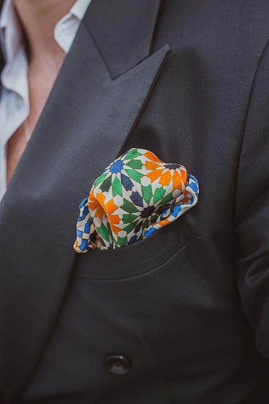 Small pocket scarf